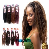 Afro Kinky Marley Braid Twist Braid Hair 18'' 80g/Pack 40 ...