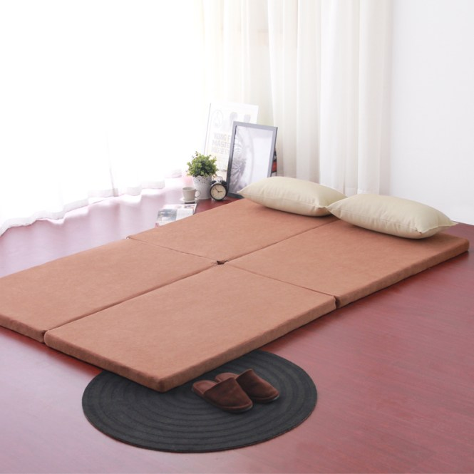 Foreign Specials Tatami Mat Portable Folding Mattress Washable Beanbag Double Bed