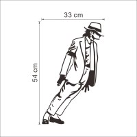 Best Selling 2015 Dancing Michael Jackson Wall Stickers ...
