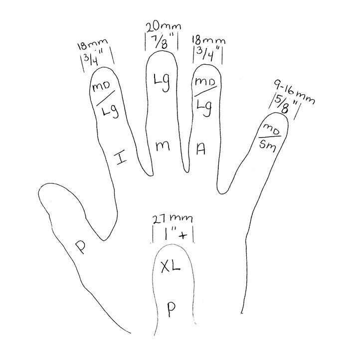 Folk Guitar Finger Pick Parts 4 Pieces Musical Delrin