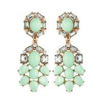 New 2015 women earrings Trend fashion korean shourouk ...