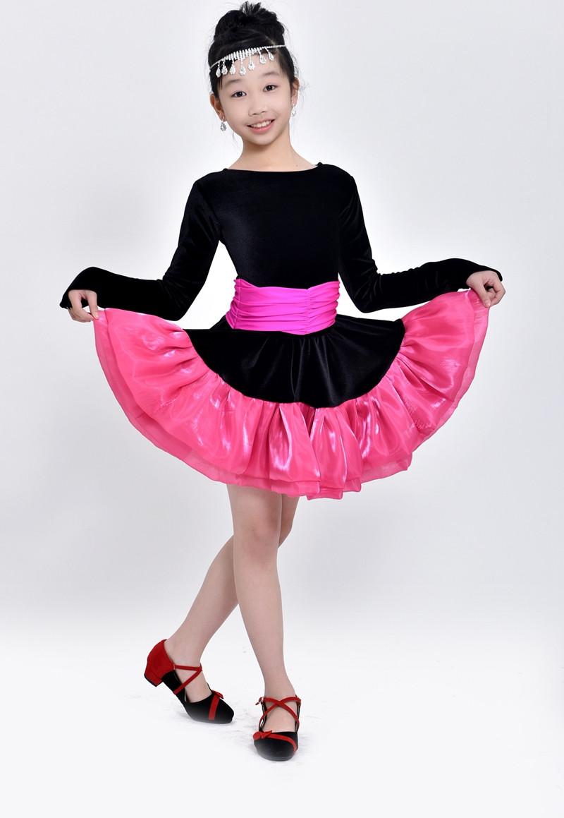 ᐅNiños Latino danza práctica y rendimiento leotards Niñas Latino ...