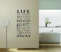 Family Inspiration vinyl wall decal quote sticker Say