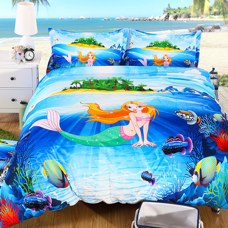 Online Buy Wholesale mermaid bedding sets from China