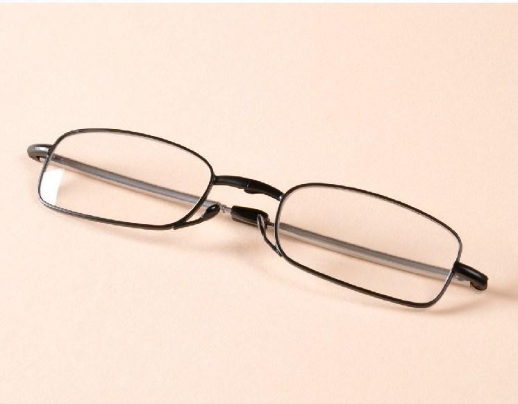 Vintage diseño de moda gafas mujeres hombres leer Gafas calidad plegable leer  Gafas mini plegable Gafas para leer con el caso 1b394058cb