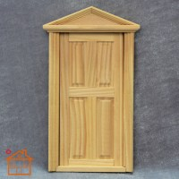 Wood Craft Workmanship 1:12 Dollhouse DIY Mini 4 Panel ...
