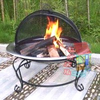 Stove iron fire pit rack fire pit heating furnace 075 ...