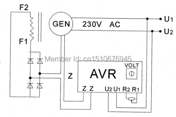 Avr Generator Wiring Diagram : 28 Wiring Diagram Images
