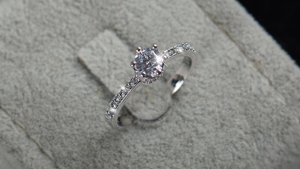 Costume Jewelry Engagement Rings Meningrey