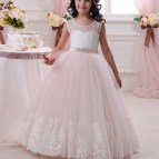 Light Pink Flower Girl Dresses