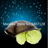 Menlike Musical Starry Baby Sleep Turtle Toys Projection ...