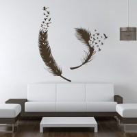 Birds-of-Feather-Wall-Decals-Vinyl-Decal-Housewares-Art ...