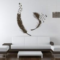 Birds-of-Feather-Wall-Decals-Vinyl-Decal-Housewares-Art ...