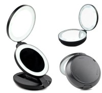 Gotofine LED Lighted Travel Makeup Mirror Double sided ...