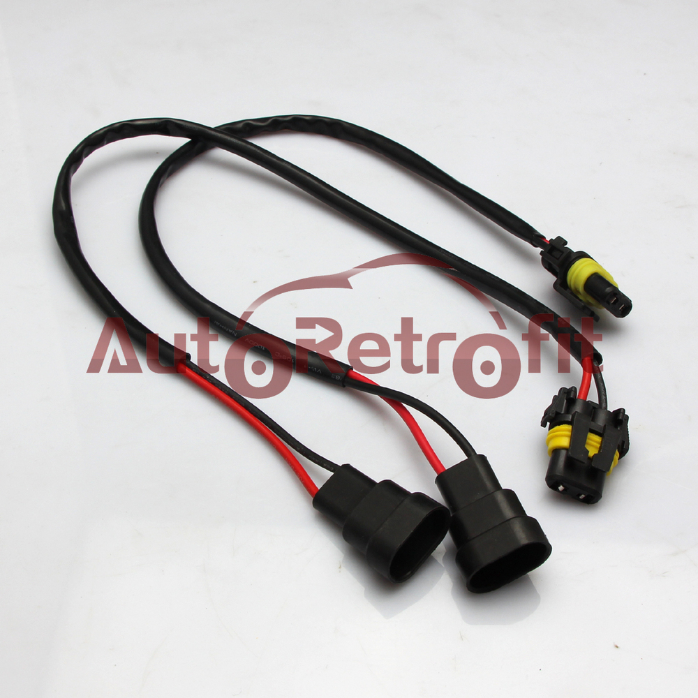 medium resolution of extension wire 9006 hb4 hid xenon headlight wiring harness plug play