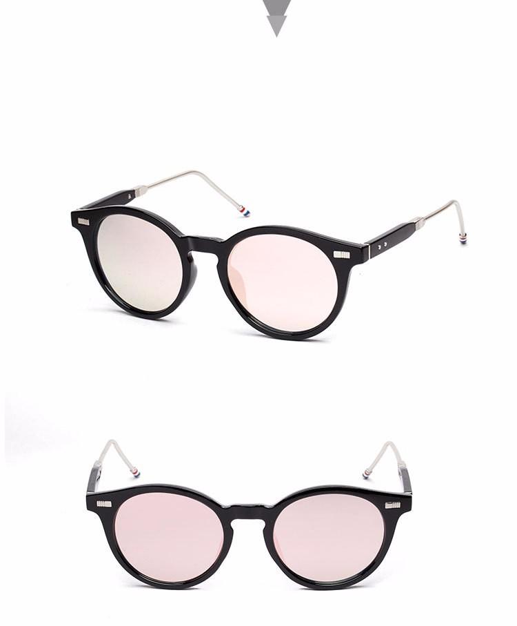 Óculos frete grátis new moda óculos mulheres homens moda retro oval óculos  de sol verão 4 cores óculos 68913a9503