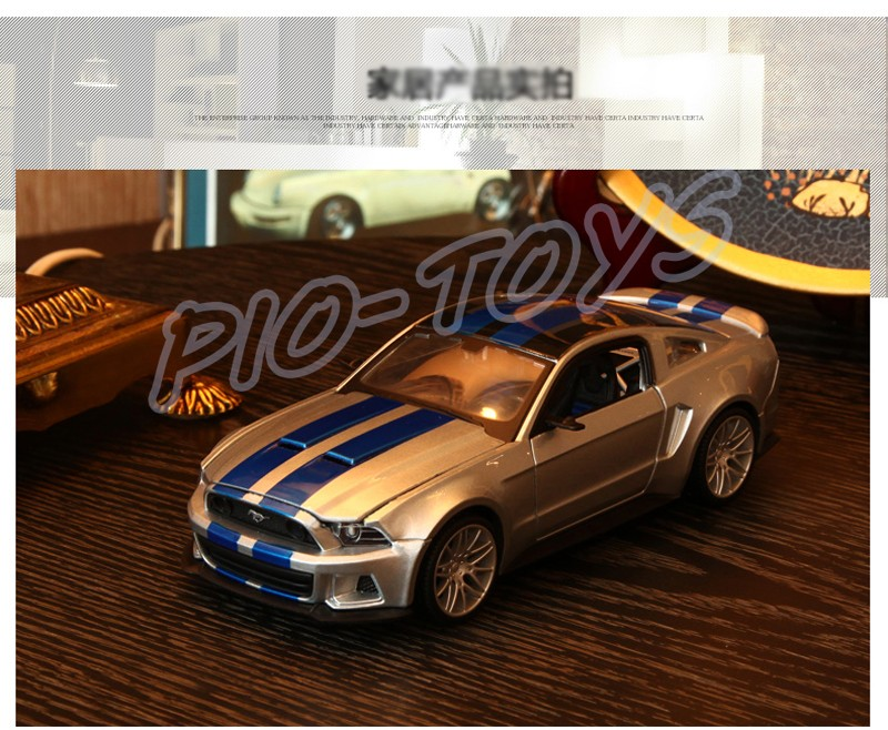 ₪Nuevo regalo de la llegada 302 1/24 metal modelo de coche deportivo ...