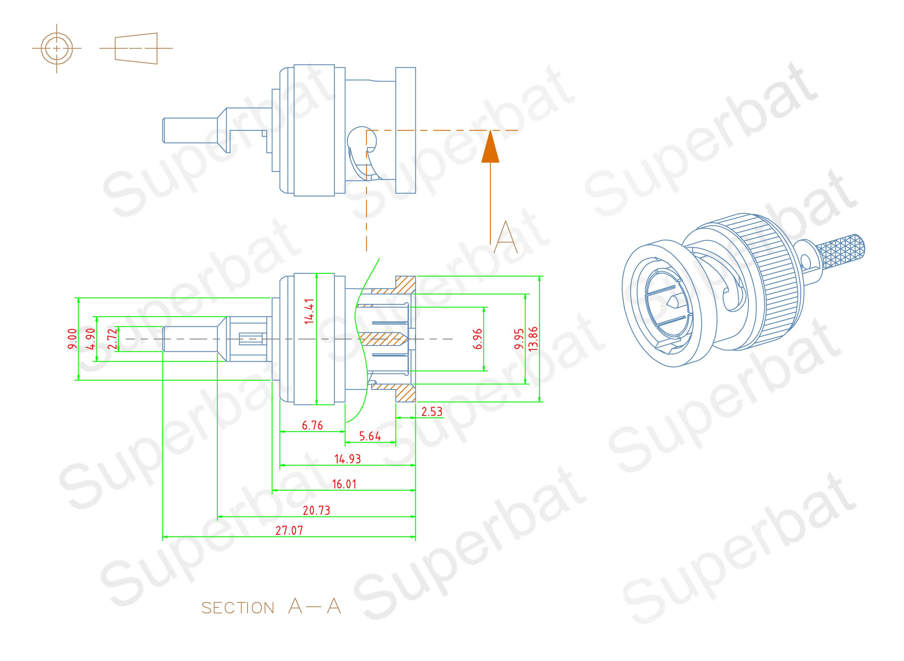 Superbat 75 Bnc Rf Rg174 Rg316 Block Diagram Canonir5000