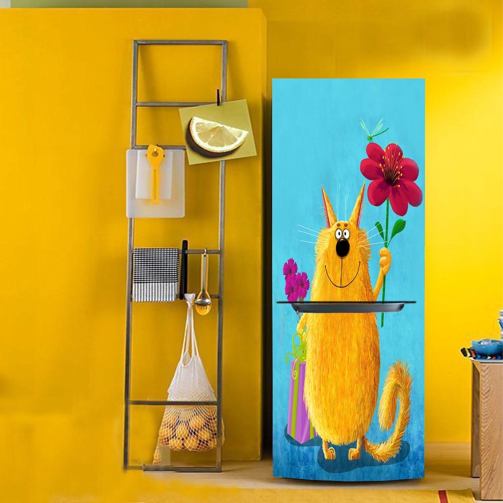 ღ Ƹ̵̡Ӝ̵̨̄Ʒ ღyazi Cartoon Mouse HD Print PVC Wall Sticker Fridge ...