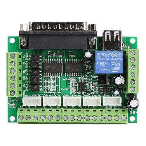 relay wiring diagram 4 pin standing rigging 5 axis cnc breakout board interface for stepper motor driver st v2 controller-in ...