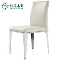 Lin-Wood-Leather-dining-chairs-modern-minimalist-stainless ...