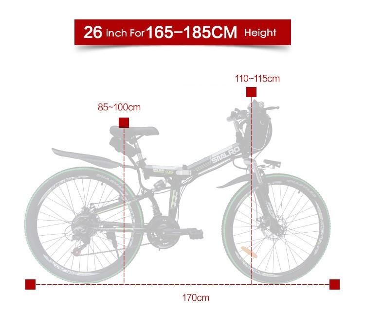 HTB1u5abNFXXXXcXXVXXq6xXFXXXJ - Authentic X-Entrance model 21 velocity 26 inch 20A 48V 500W Lithium Battery Electrical folding Mountain Bike downhill Bicycle ebike