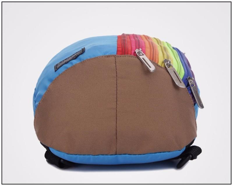 60ba834036fe Bokinslon Для женщин дизайнер рюкзак популярные нейлоновый рюкзак Для  женщин S Мода Радуга женская сумка рюкзак Повседневное