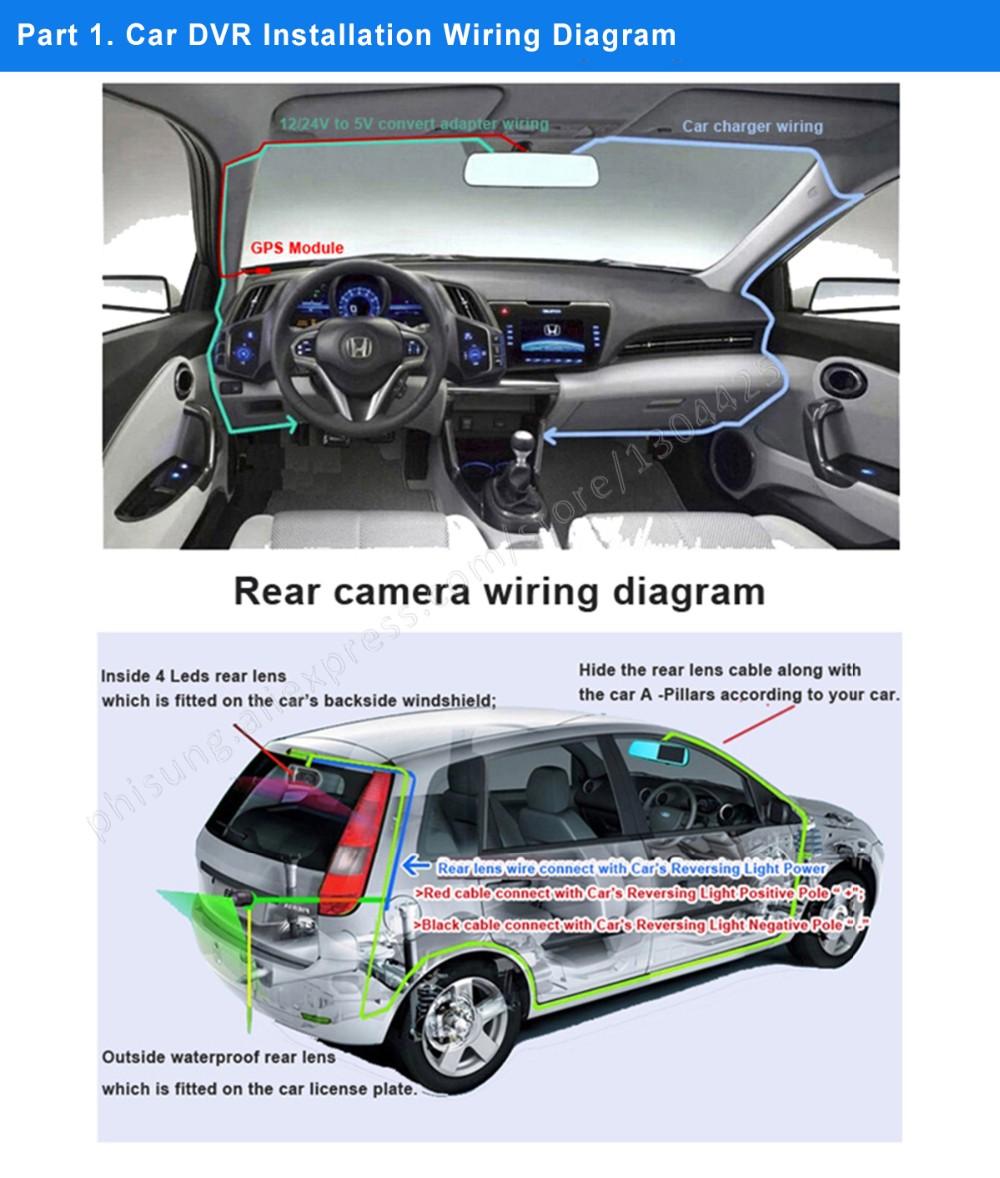 Car Camera Wiring Diagram Schematics Box U203fphisung Mirror Dvr Installation Procedure And Wire A89 Hit Diagrams