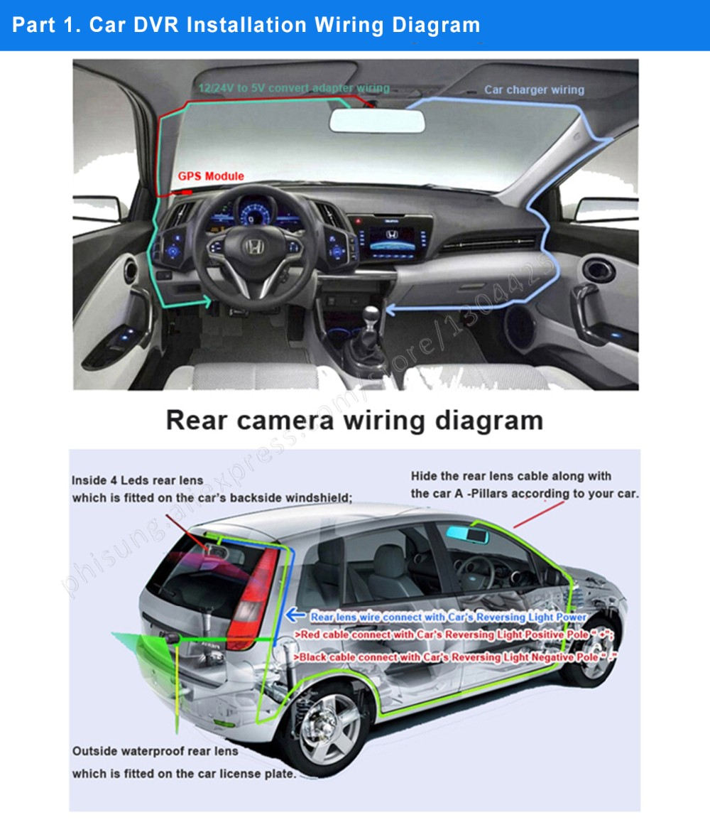 Phisung Mirror Dvr Installation Procedure And Wire Diagram A89 Vehicle Gps Wiring We Are Established In 2004 A Professional Manufacturer Exporter That Is Concerned With Design Development Production Of Car