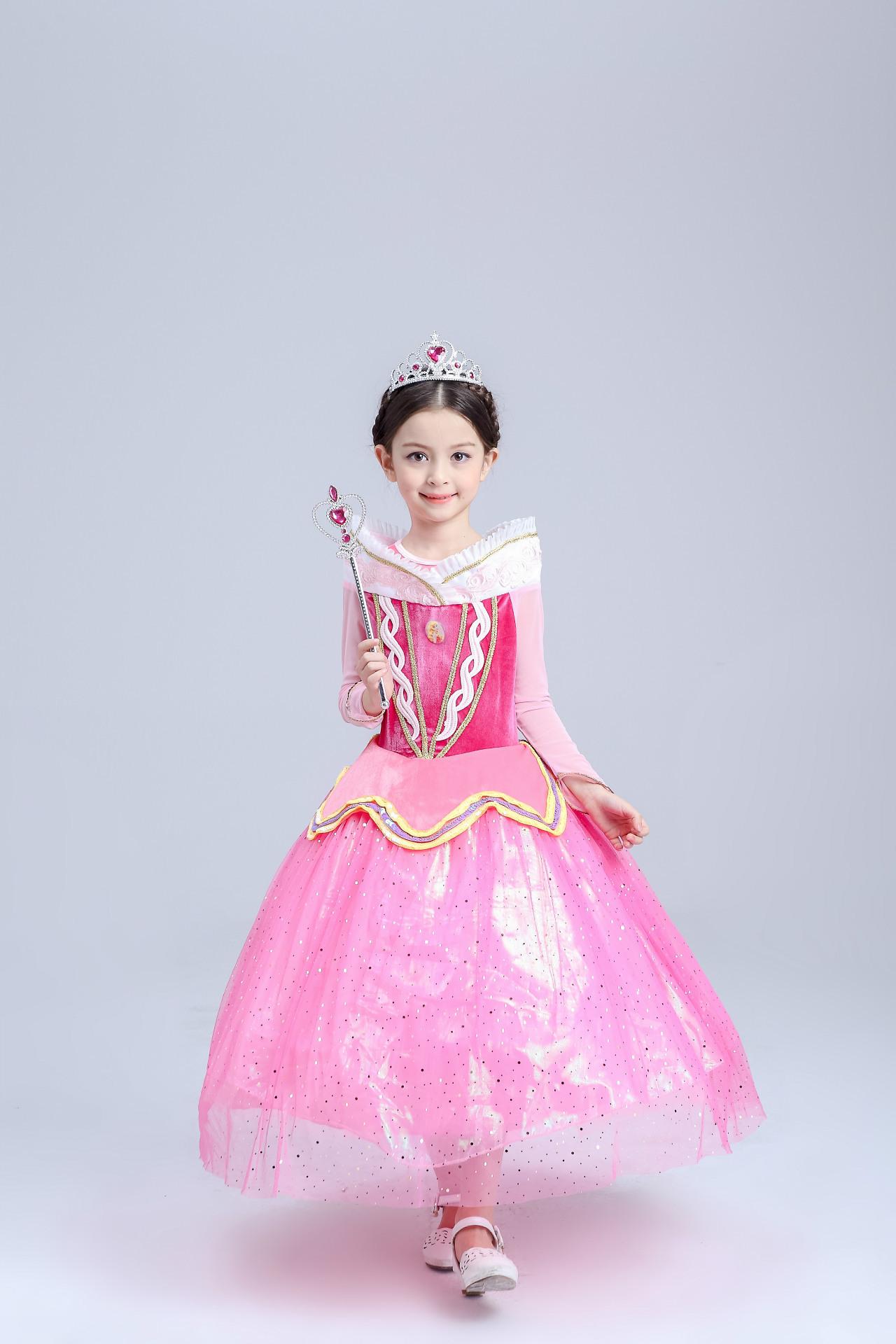 ⑥Comercio exterior de los niños princesa ropa Niñas niños fiesta de ...