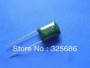 Radial Lead 50V Inc. Non-Inductive 10/% Tolerance 0.27 /µF Capacitance NTE Electronics MLR274K50 Series MLR Polyester Non-Polarized Film Capacitor