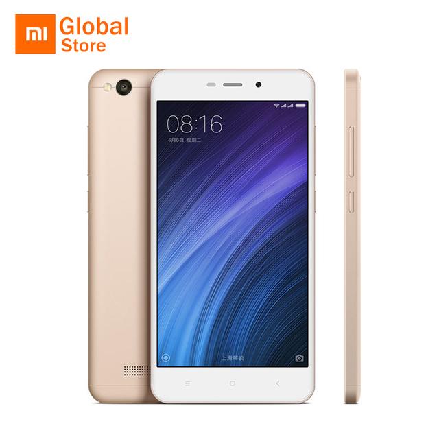 Original Xiaomi Redmi 4A 2GB RAM 16G ROM Mobile Phone Snapdragon 425 Quad Core 13MP 3120mAh MIUI 8