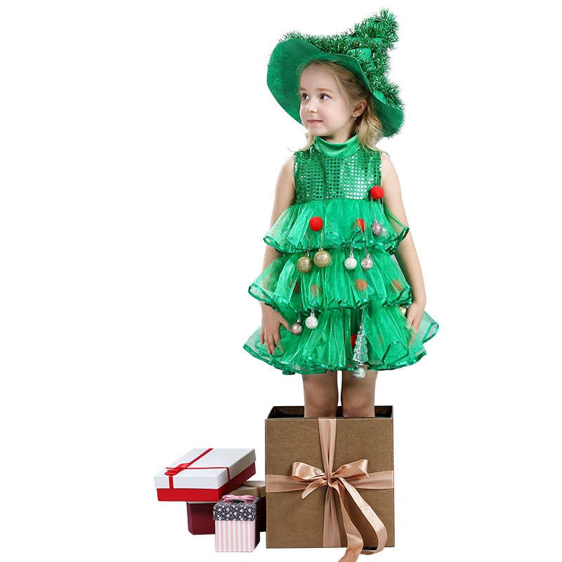 ヾ(^▽^)ノNavidad árbol Niñas vestido niños princesa Tutu danza ...
