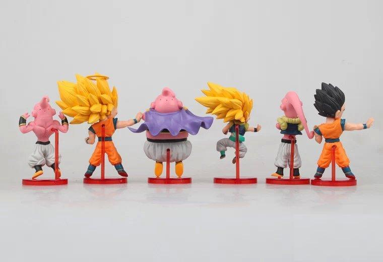 ∞6 unids/lote nueva dragonball Dragon Ball Z DBZ anime Goku vegeta ...