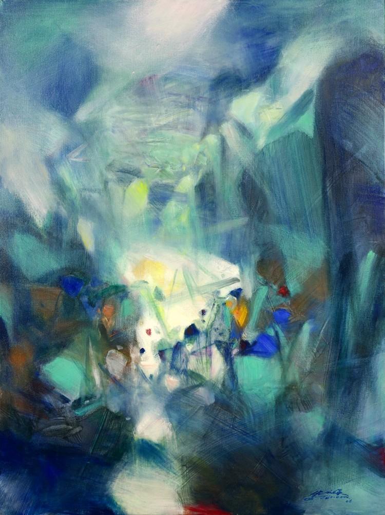 Chu y sus compañerosWu GuanzhongYZao wou-kiFueron llamados los  Tres  Mosqueteros  de los artistas chinos modernistas entrenados en China y  Francia. a934ee5a2c9