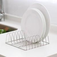 Stainless Steel Kitchen Accessories Desktop Dish Rack ...