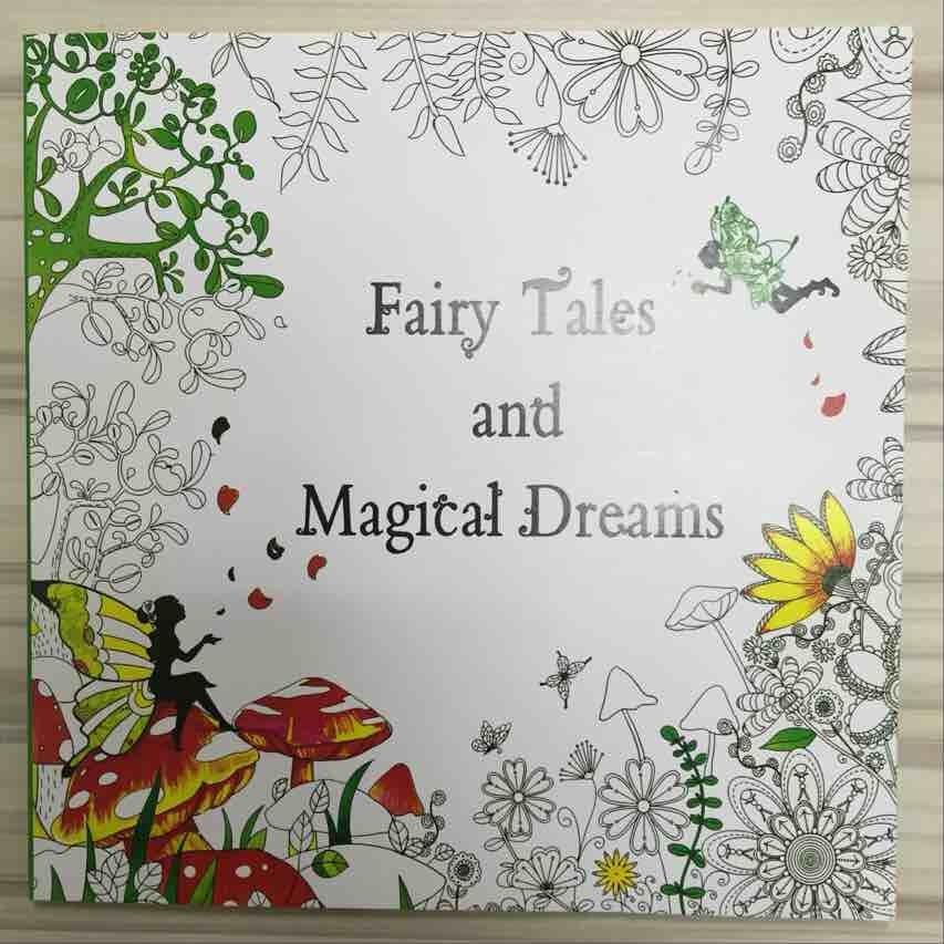 4 piezas 48 páginas belleza y la Bestia + Mystery jardín bosque ...