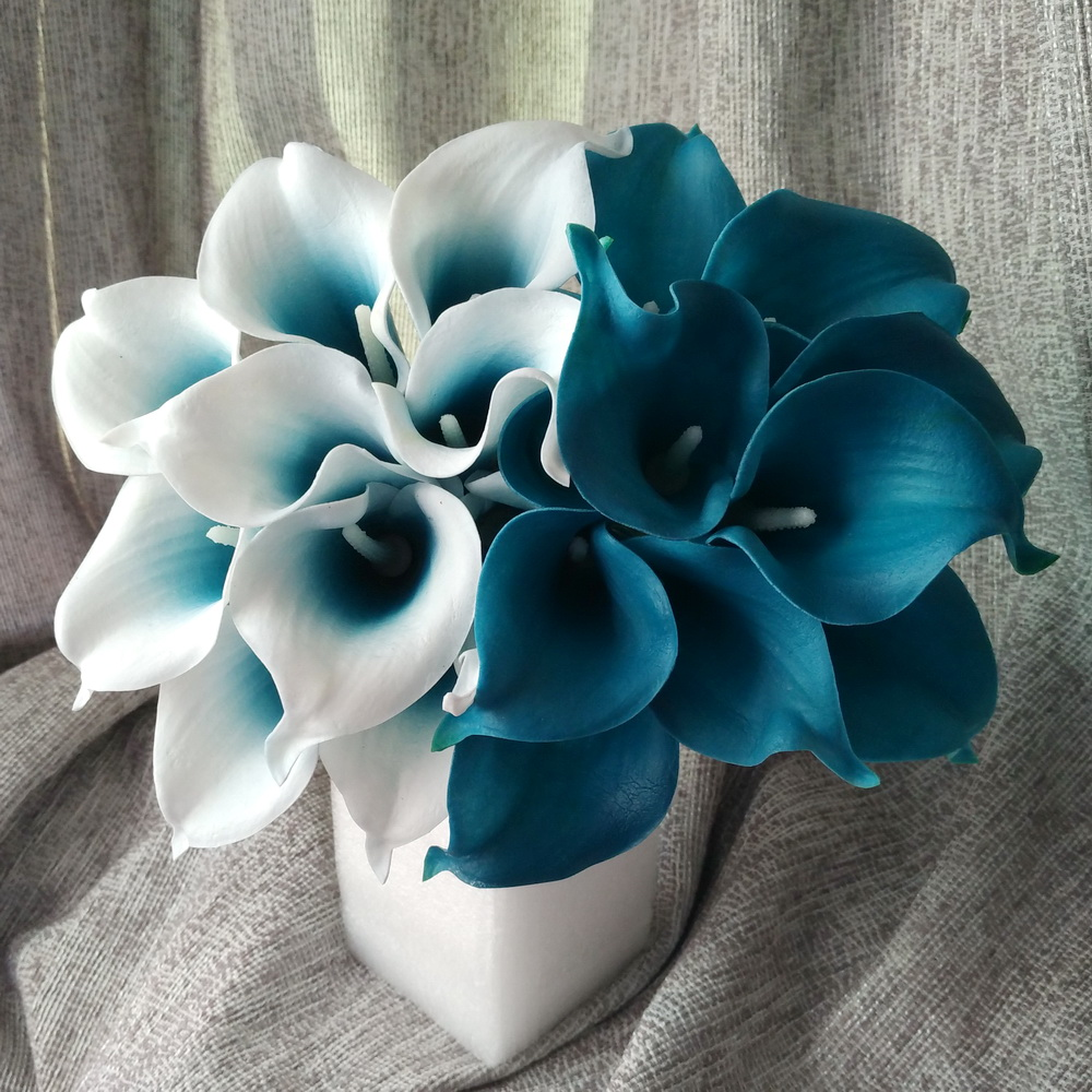 Online Buy Wholesale Blue Calla Lilies From China Blue