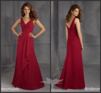 Dark Red Bridesmaid Dresses | Cocktail Dresses 2016
