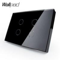 Touch Remote Sensor Wall Light Switch with LED Indicator,4 ...