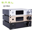 Hot Sale SMSL Q5 Pro HiFi 2 0 Pure Home Audio Digital Amplifier 24bit 96kHz USB
