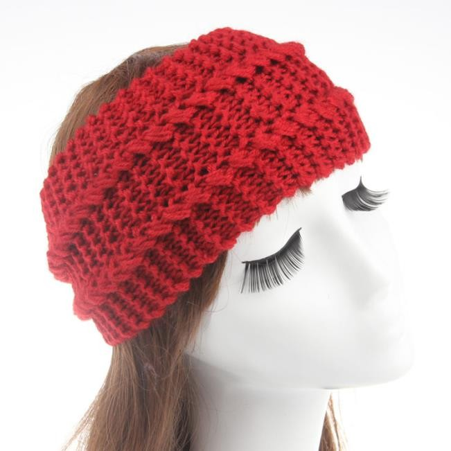 ⑦Chic mujeres caliente crochet giro punto cabeza venda del ...