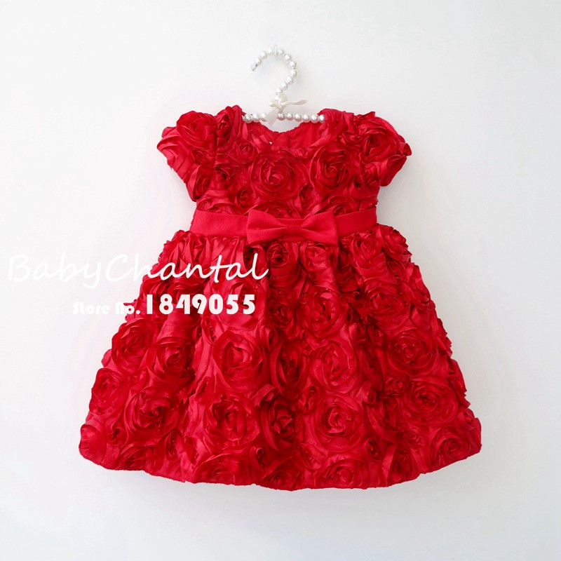 kids party wear dresses for girls toddler girl flower dress christmas costumes baby girls birthday party princess dresses gowns