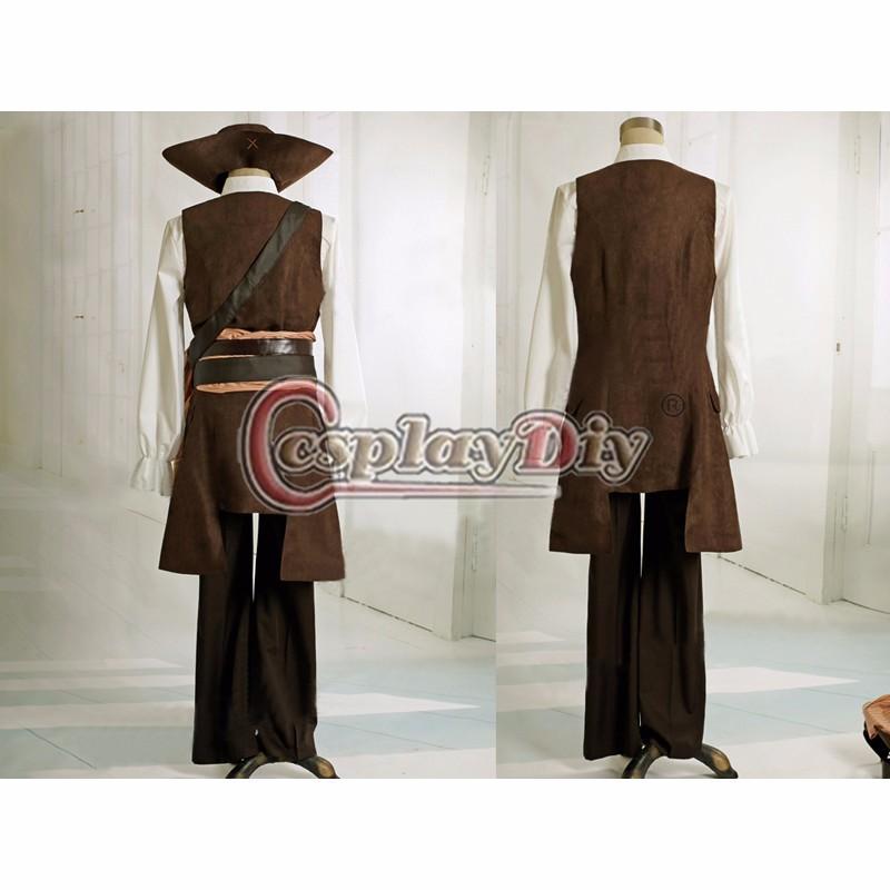 ... Caribe traje capitán Jack Sparrow disfraz para Halloween traje Cosplay.  C00466 02  75952.1407883008.1000.1200 C00466 03  85745.1407883594.1000.1200  ... 3d49b7106e39