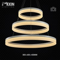 Multi Rings LED Pendant Light Modern LED 4 rings Acrylic ...