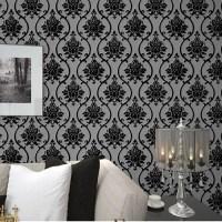 Popular Black Velvet Wallpaper-Buy Cheap Black Velvet ...