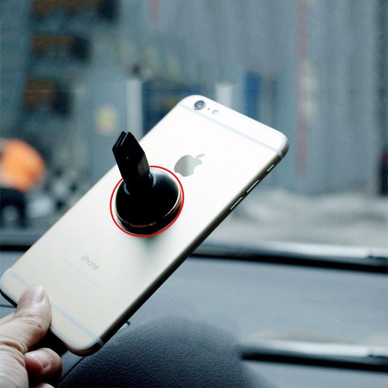 אוניברסלי 360 מעלות מגנט הרכב מחזיק טלפון אוורור הר מגנטי טלפון נייד מחזיק אייפון סמסונג טלפון Xiaomi לעמוד
