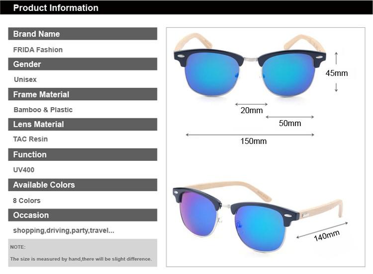 293f8fbf2 Фрида Bamboo Солнцезащитные очки для женщин Для мужчин Дерево  Солнцезащитные очки для женщин Óculos De Sol masculino деревянный  Солнцезащитные очки для.