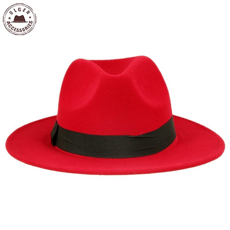 Venta caliente barato de lana unisex jazz sombreros para hombre jpg 800x800 Barato  venta de sombreros a059ef6365b