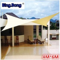 Outdoor sun shade sail Shade cloth canvas awning canopy ...